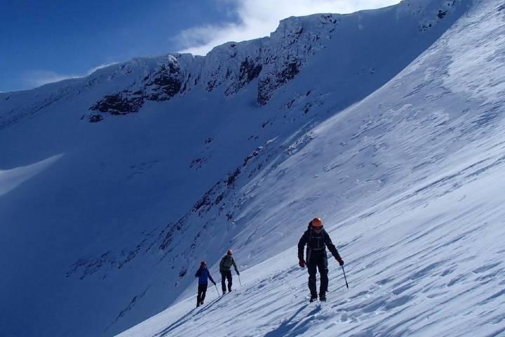Deportes de nieve. Foto: Gary Hodgson