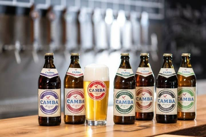 Diferentes tipos de cerveza Camba Pale Ale Foto: Camba Bavaria