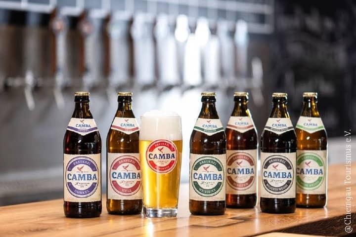 Diferentes tipos de cerveza Camba_Campa Bavaria