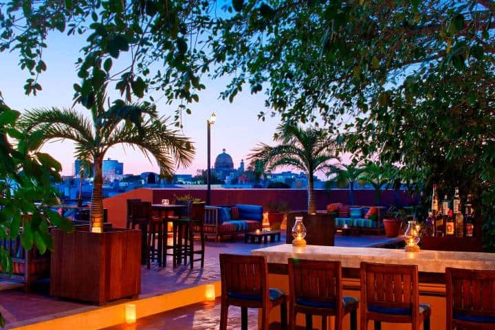 Disfruta de la vista y los deliciosos platillos del restaurante La Guardia en Puerta Campeche. Foto: Archivo
