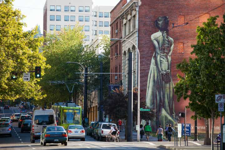 Downtown-Portland-mural