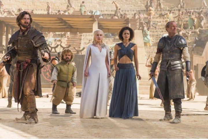 Una escena inolvidable de la Quinta temporada de juego de Tronos Foto: HBO