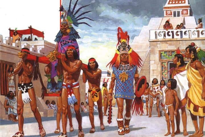Emperador Maya Foto: Pinterest