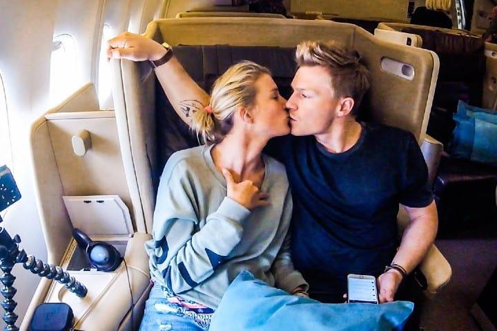 Encuentros románticos en un avión. ¿Lo harías?. Foto: Archivo