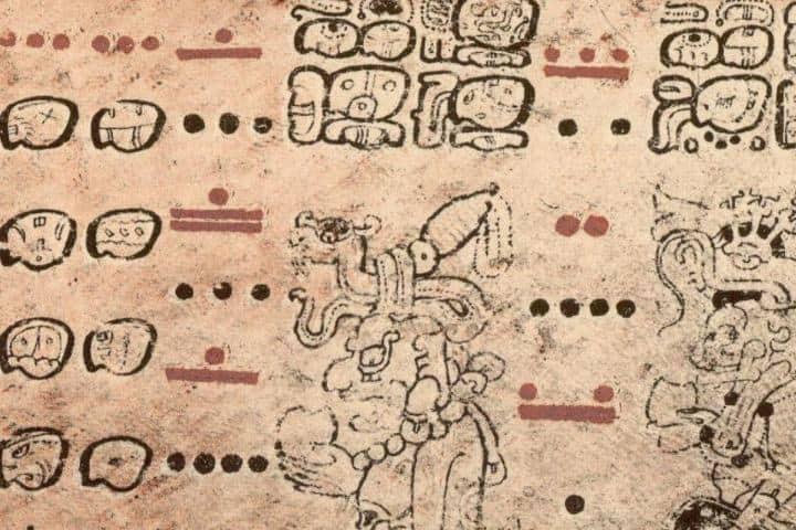 Escritura maya Foto La Vanguardia
