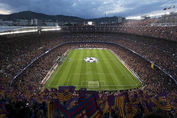 Los 55,000 metros del Camp Nou se dicen fáciles, ¿No crees? Foto: Diario AS