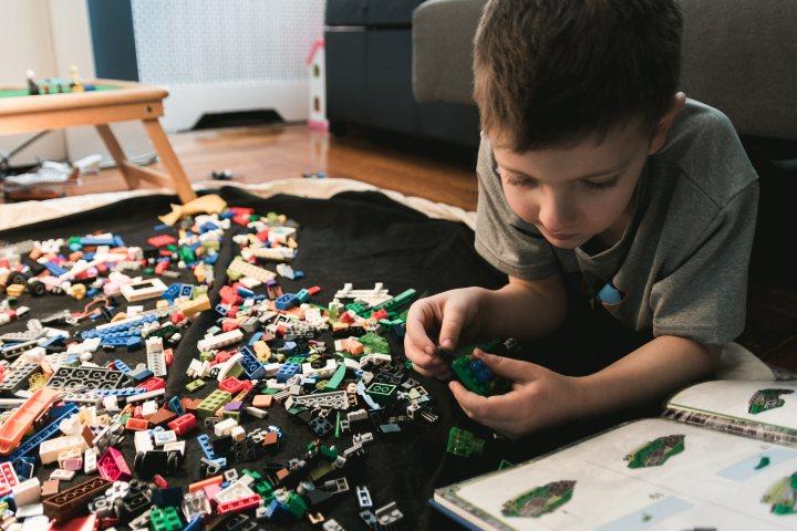 Fábrica de lego en Dinamarca. Foto Kelly Sikkema.