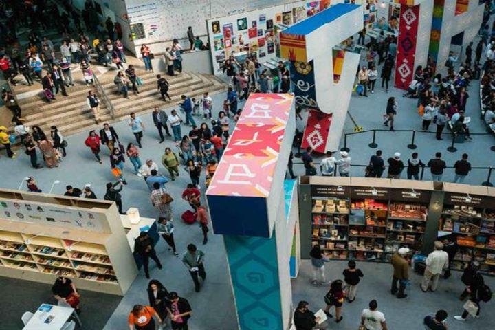 Feria Internacional del Libro en Guadalajara.. Foto Dónde Ir