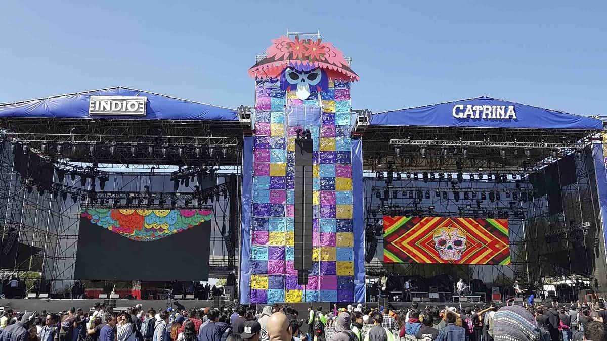 Festival Catrina Portada (Conciertos México)