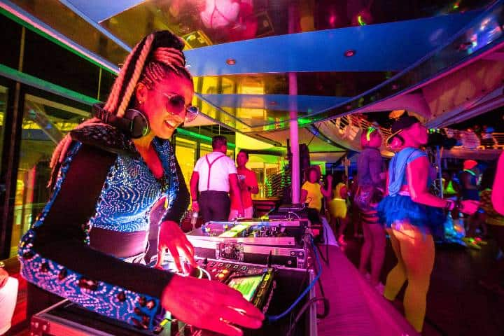 Fiesta en Temptation Caribbean Cruise. Foto: Archivo