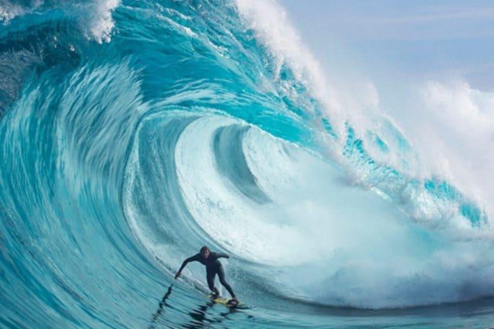 Torneo de surf en puerto escondido. Foto:GM5