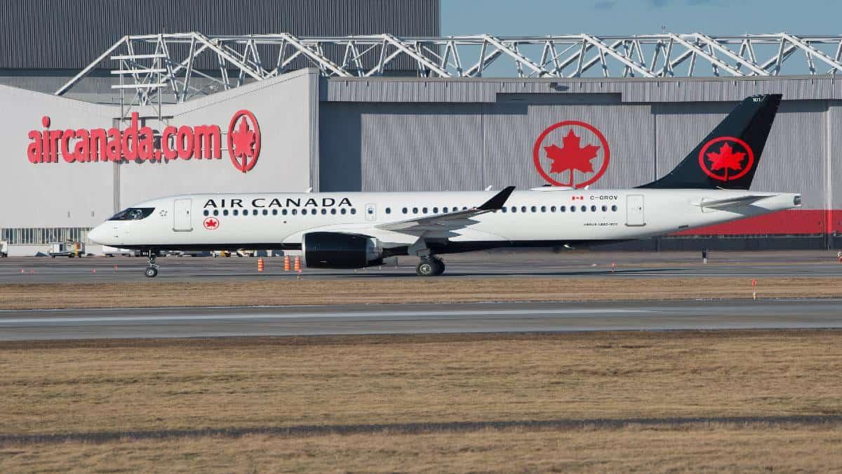 Avión de Air Canada Foto: Air Canada