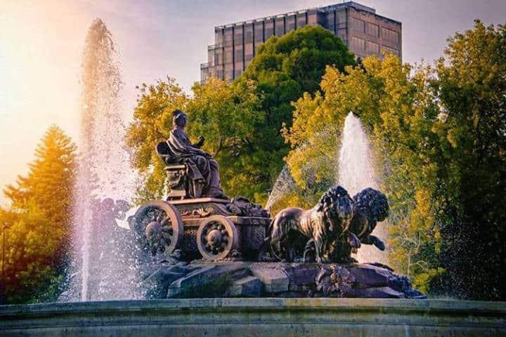 Conoce todo sobre la famosa Fuente de Cibeles. Foto: mexmagic