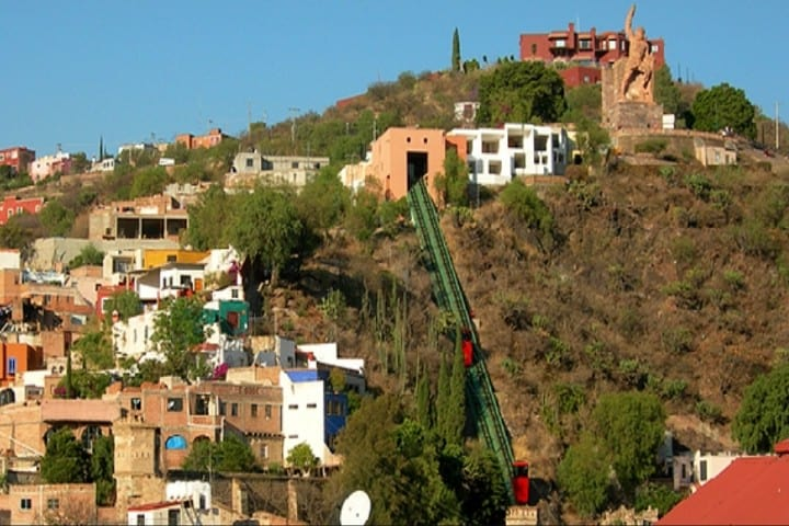 Funicular de Guanajuato Foto: Zona Turística