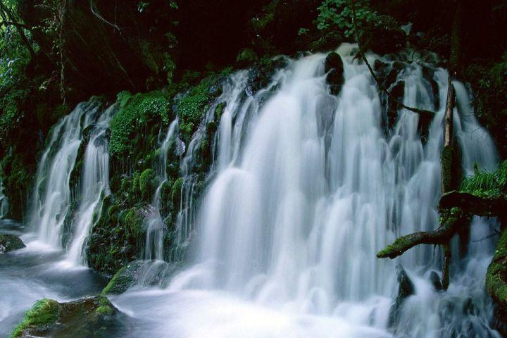 Más México Foto: Cascadas Agua Blanca en Tabasco