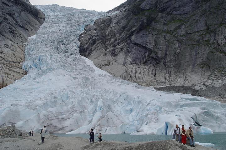 Glaciar Briksdal Foto: El tiempo