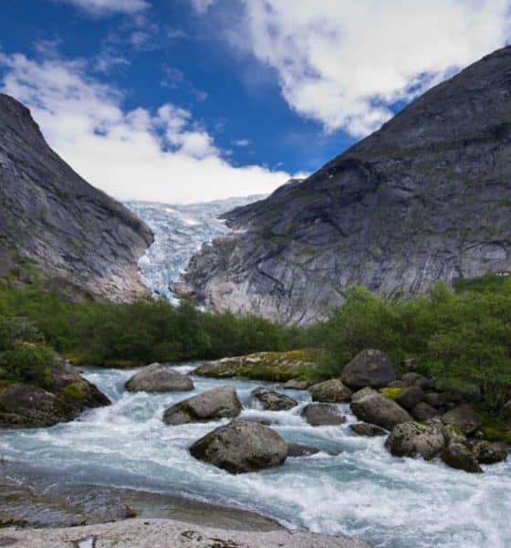 Glaciar Briksdal Foto: Ricardo López Blanco