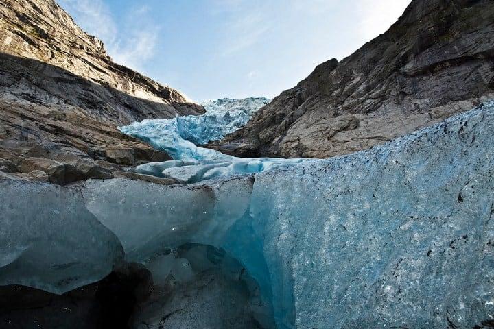 Perspectiva desde el hielo Foto: Sergio Jordana