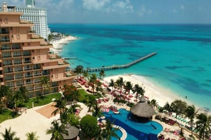 Grand Fiesta Americana Cancún Coral Beach Foto Pinterest.
