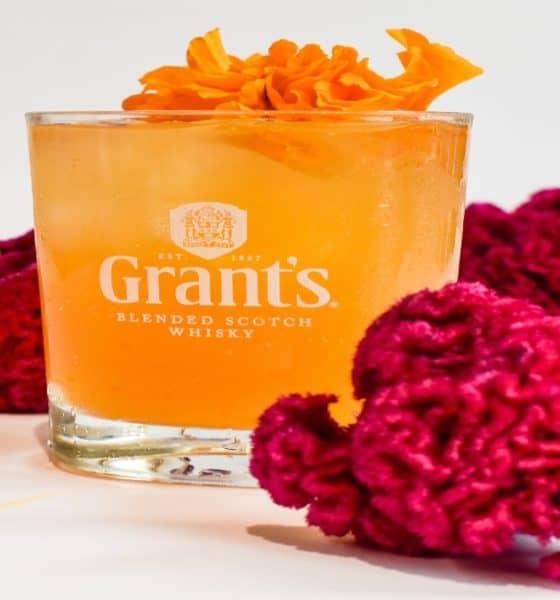 Grant's cocktail flor de cempasúchitl. Foto: Archivo