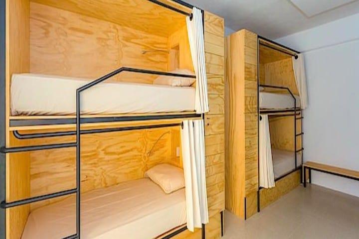 La habitación perfecta para compartir con tus amigos Foto: Zona Turística
