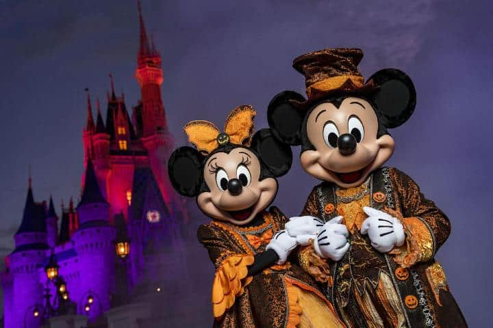 El Halloween Florida no podría estar completo sin Disney. Foto: Sun Sentinel