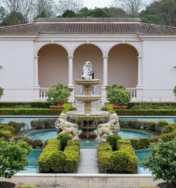 Similar a los templos antiguos, el Hamilton Garden de Nueva Zelanda te recibirá como el rey que eres. Foto: Comiviajeros