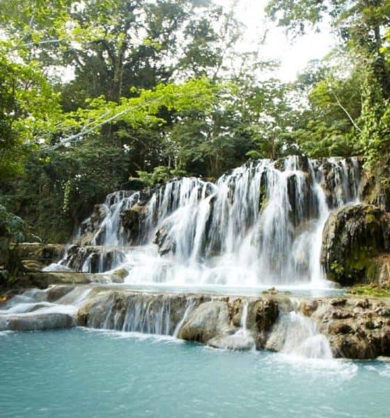 Hermosas cascadas de Agua Blanca Foto: Balnearios México