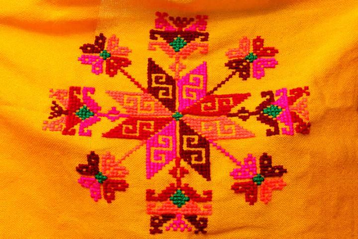 Bordados elaborados por los huastecos. Foto: gobmx