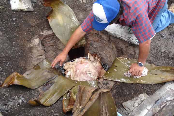 Horno de hoyo Foto: Taringa