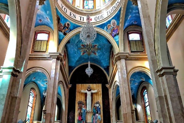 Iglesia de San Marcos en el Paraíso Foto: Moisés Amir