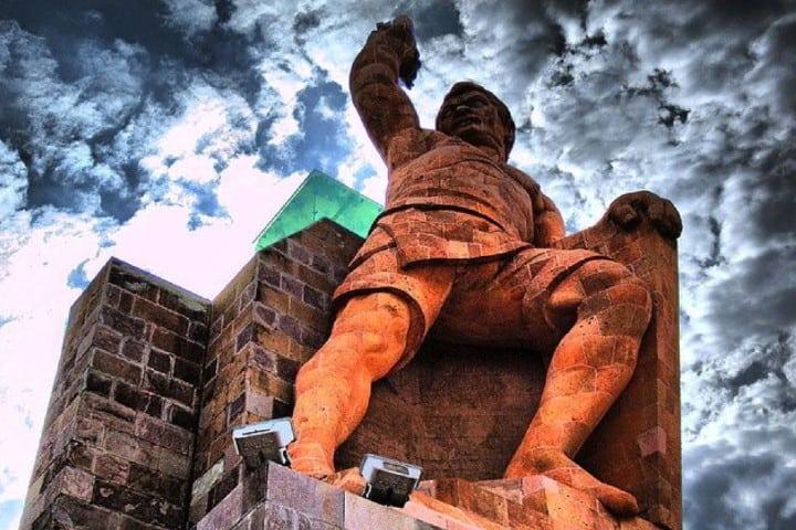 Increíble vista del Monumento al Pípila Foto: Ciudades de México