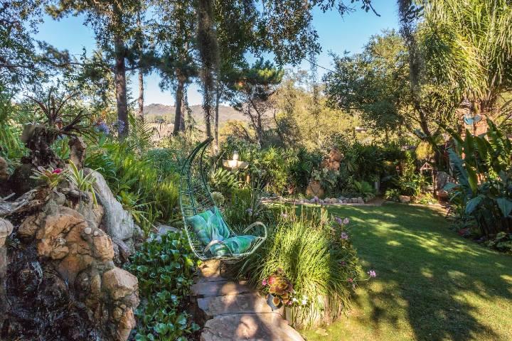 Jardín temático Foto: Airbnb