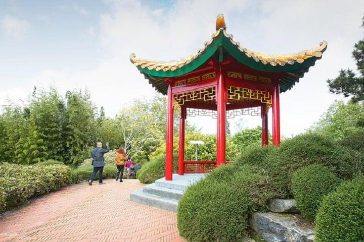 Los jardines incluyen un estilo arquitectónico correspondiente de cada país. Foto: TripAdvisor