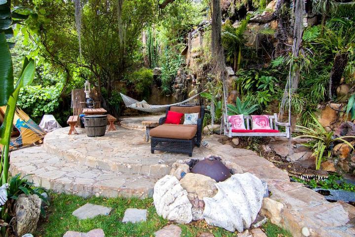 Jardín principal Foto: Airbnb