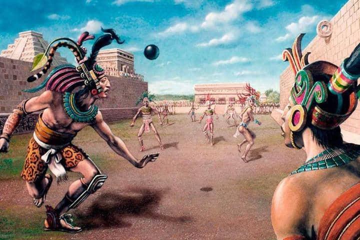 Juego de pelota Foto: Infobae