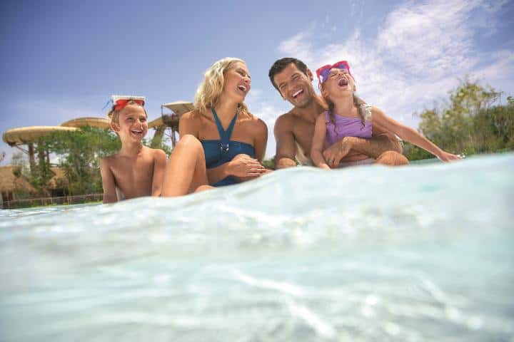 ¡Toda la familia puede disfrutarlo! Foto: Travelocity