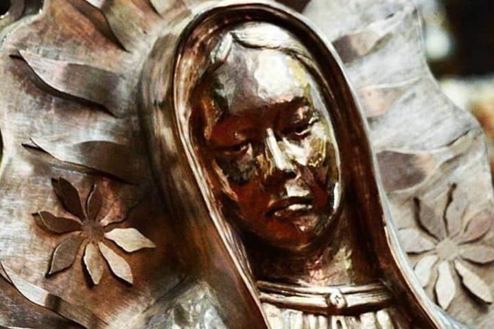Sabías que la virgen de plata más grande del mundo está en Taxco, conócela durante tu viaje a la Feria Nacional de la Plata  Foto: Visit Taxco
