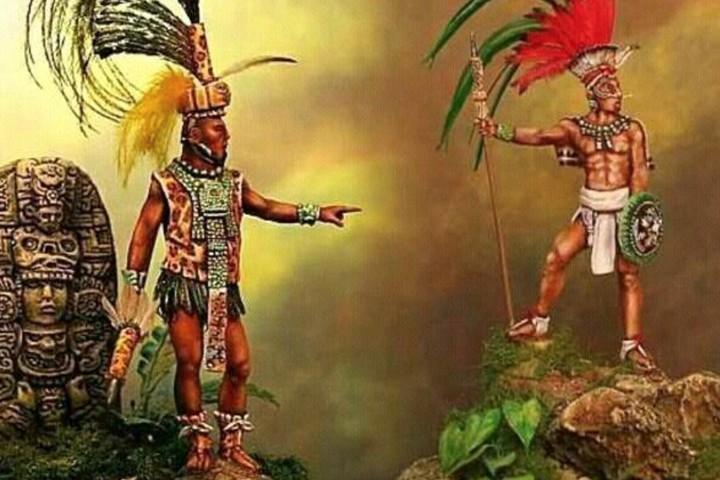 La leyenda Maya del Chechén y el Chacá.