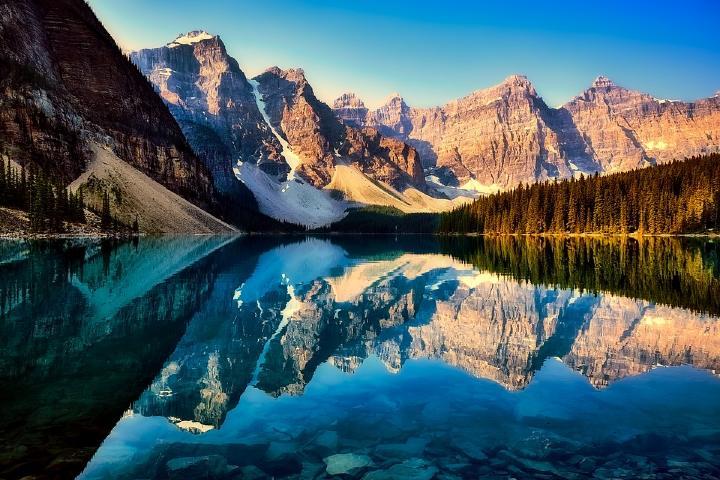 Lago Moraine Foto: Hiperfairs