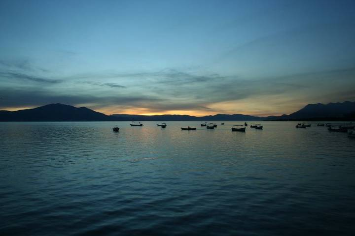 Lago de Chapala. Foto: Terishthan
