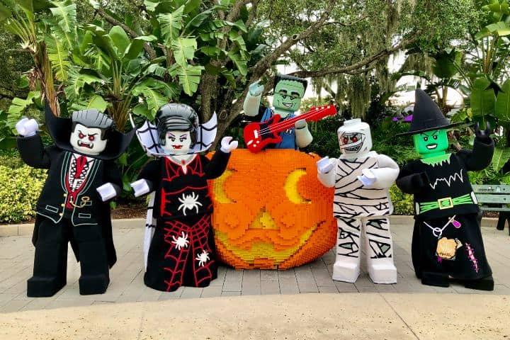 Legoland ¡Te hará vivir un gran Halloween en Florida! Foto: Legoland