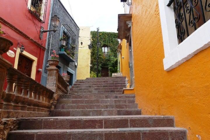 Los callejones de Guanajuato Foto: Pablo Bedrossian