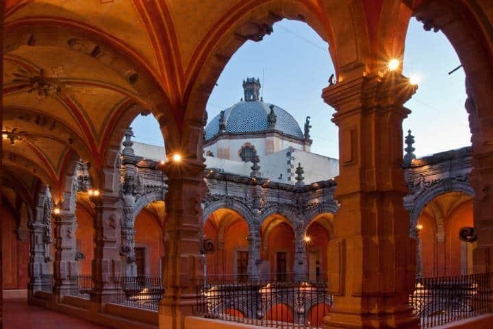 El Museo de Arte de Querétaro es bellísimo. Foto: De paseo