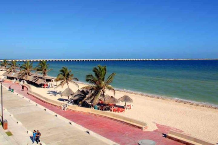 La belleza de Puerto Progreso Foto: Gobierno de Yucatán