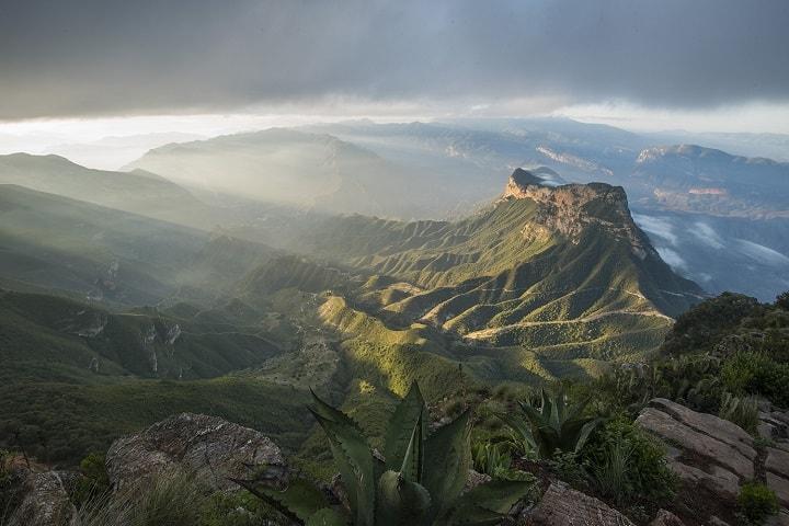 Una ruta en carretera por el Mirador Cuatro palos será fascinante. Foto: Sierra Gorda Ecotours