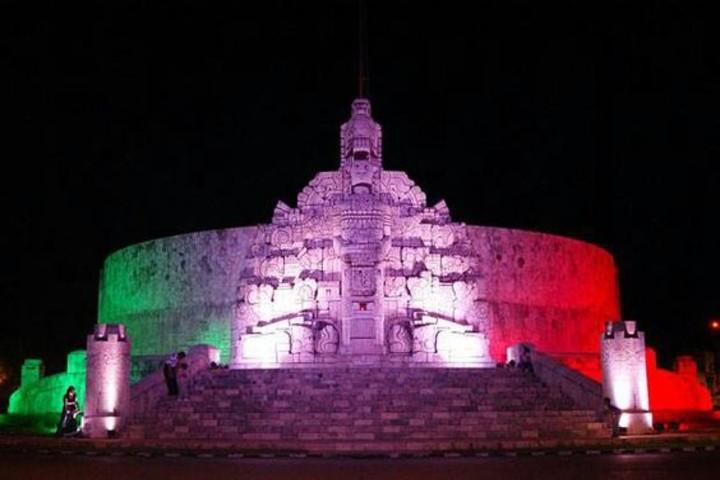 Monumento a la patria en Yucatán. Foto Claudia Garcia Milan