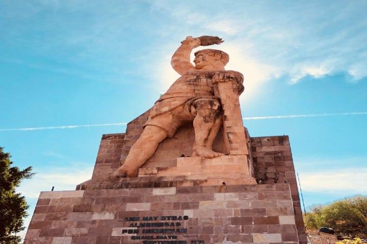 Monumento al Pípila Foto: Wikipedia