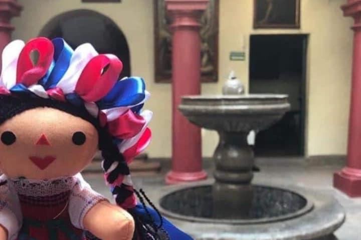 Muñeca Lele dentro del museo. Foto: maria_viajera21