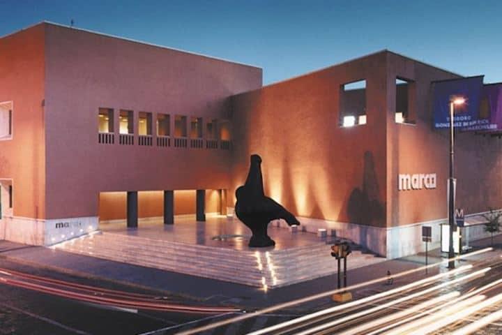 Museo de Arte Contemporáneo de Monterrey Foto: Portal MX